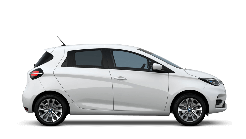 Glacier White New Renault ZOE