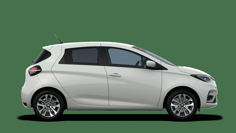 Quartz White New Renault ZOE