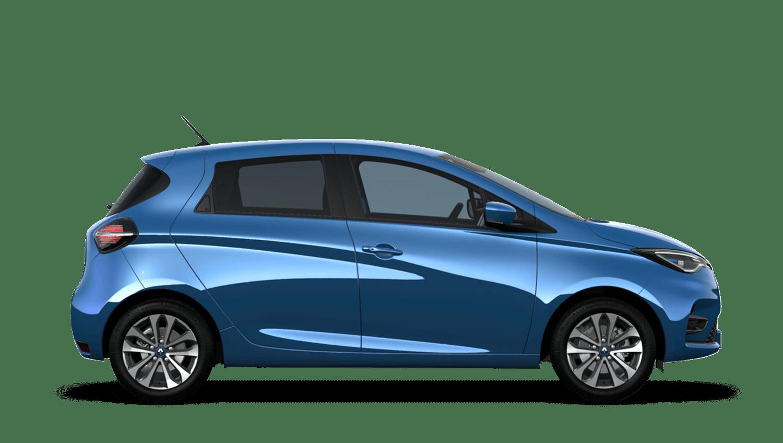 Zircon Blue New Renault ZOE