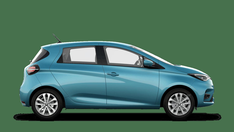 Celadon Blue Renault ZOE