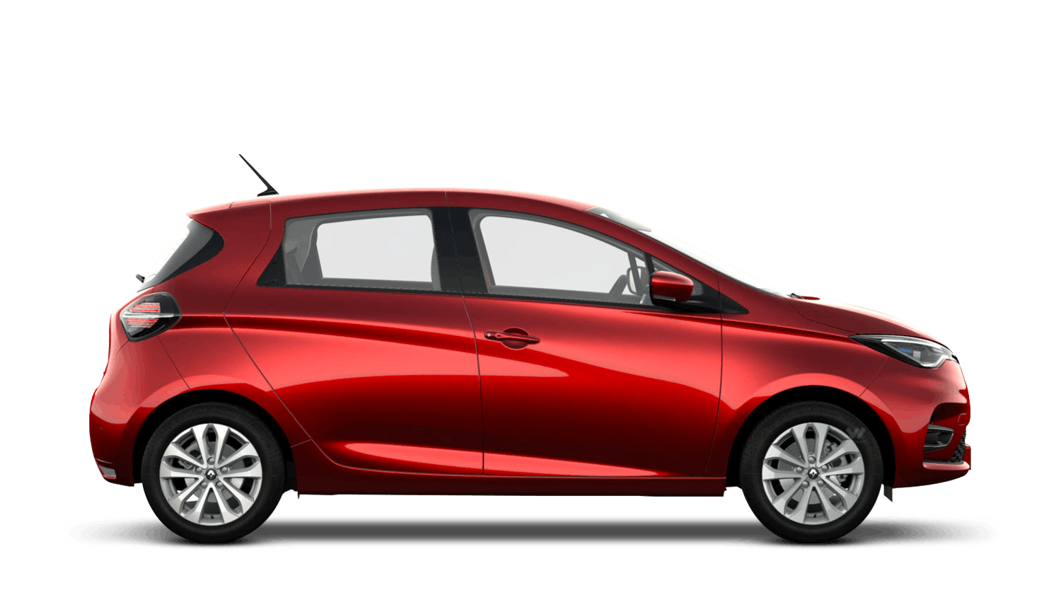 Flame Red Renault ZOE