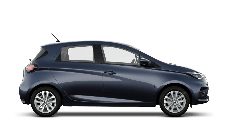 Titanium Grey Renault ZOE