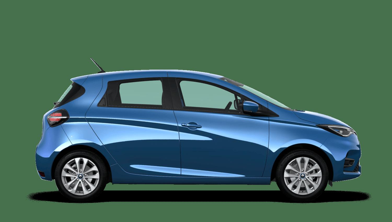 Zircon Blue Renault ZOE
