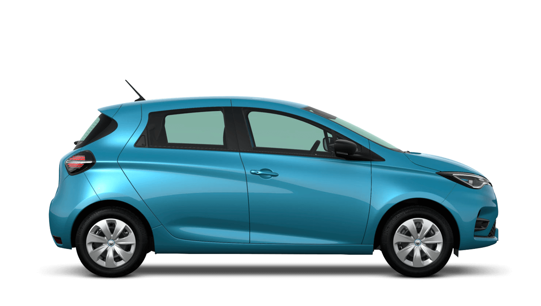 Celadon Blue New Renault ZOE