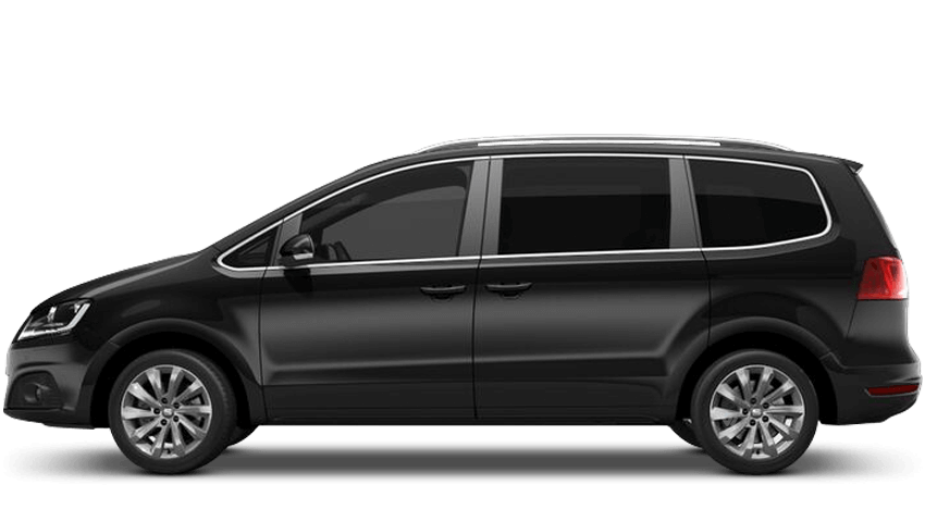Deep Black (Metallic) SEAT Alhambra