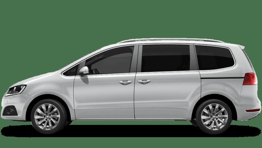 White Silver (Metallic) SEAT Alhambra