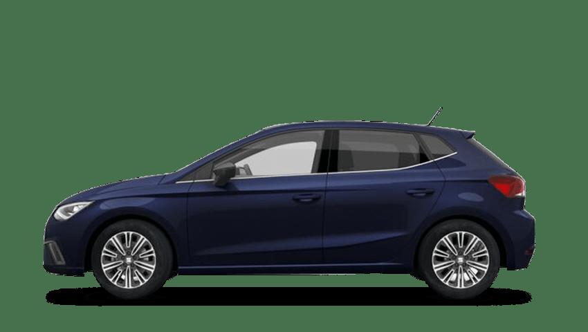 Mediterranean Blue (Solid) SEAT Ibiza