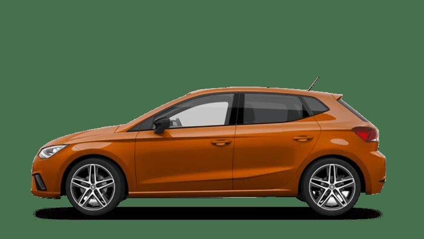 Eclipse Orange (Metallic) SEAT Ibiza