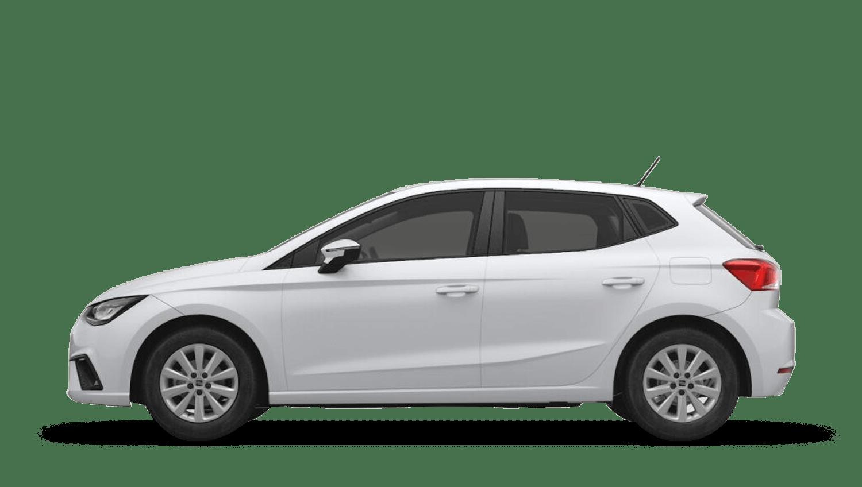 Nevada White (Metallic) SEAT Ibiza