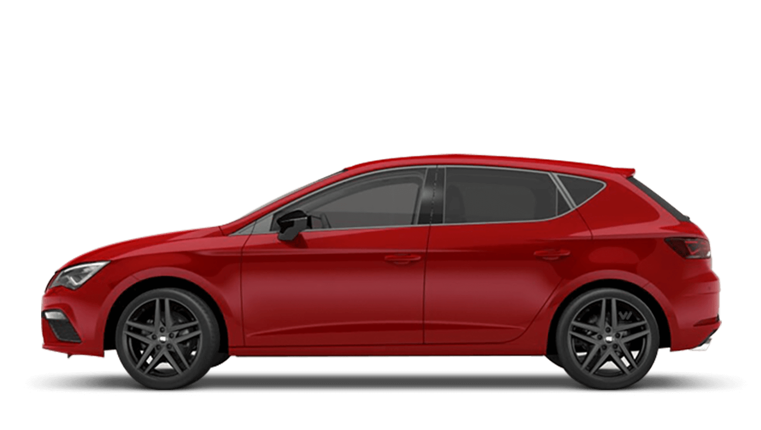 Desire Red (Metallic) SEAT Leon 5 Door