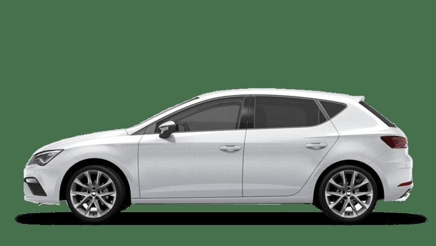 Nevada White (Metallic) SEAT Leon 5 Door
