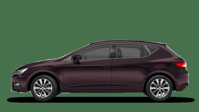 Boheme Purple (Metallic) SEAT Leon 5 Door