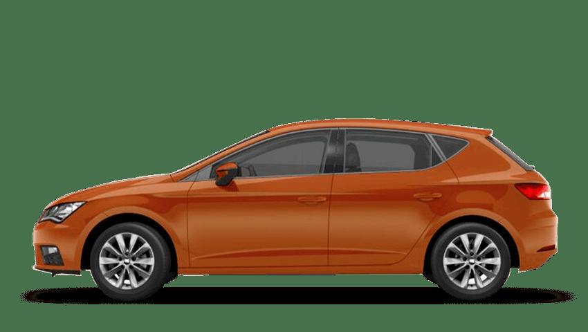 Eclipse Orange (Metallic) SEAT Leon 5 Door