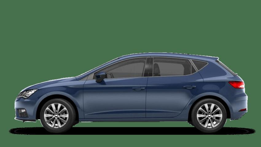Mediterranean Blue (Solid) SEAT Leon 5 Door
