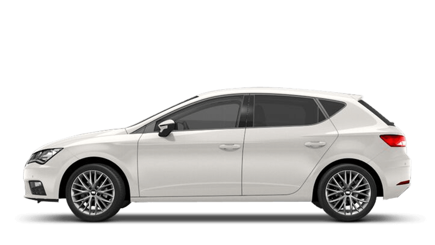 White (Solid) SEAT Leon 5 Door