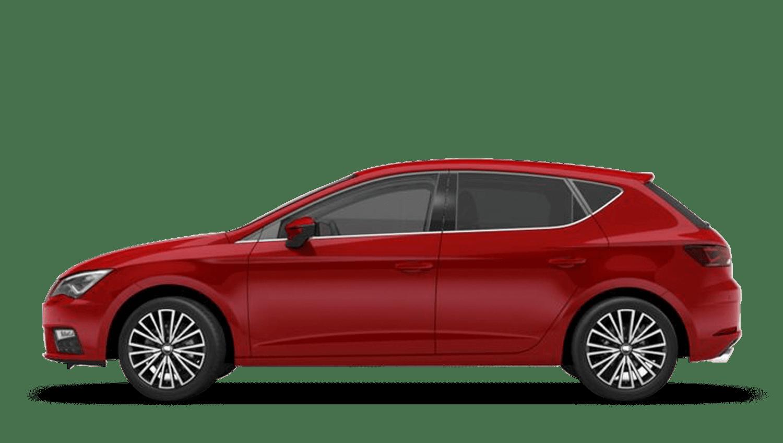Desire Red (Metallic) SEAT Leon 5 Door