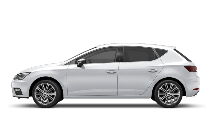 Nevada White (Metallic) SEAT Leon 5 Door