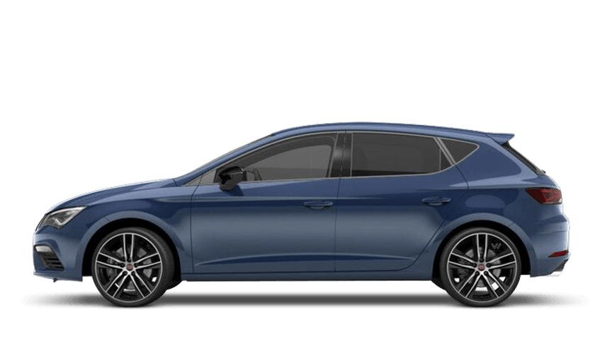 Mediterranean Blue (Solid) SEAT Leon 5dr Cupra