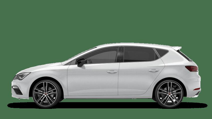 Nevada White (Metallic) SEAT Leon 5dr Cupra