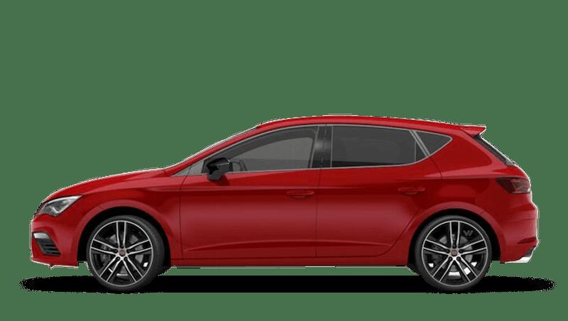 Desire Red (Metallic) SEAT Leon 5dr Cupra