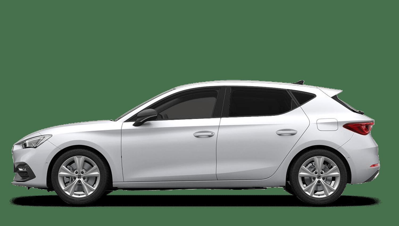 Nevada White (Metallic) SEAT Leon e-Hybrid (PHEV)