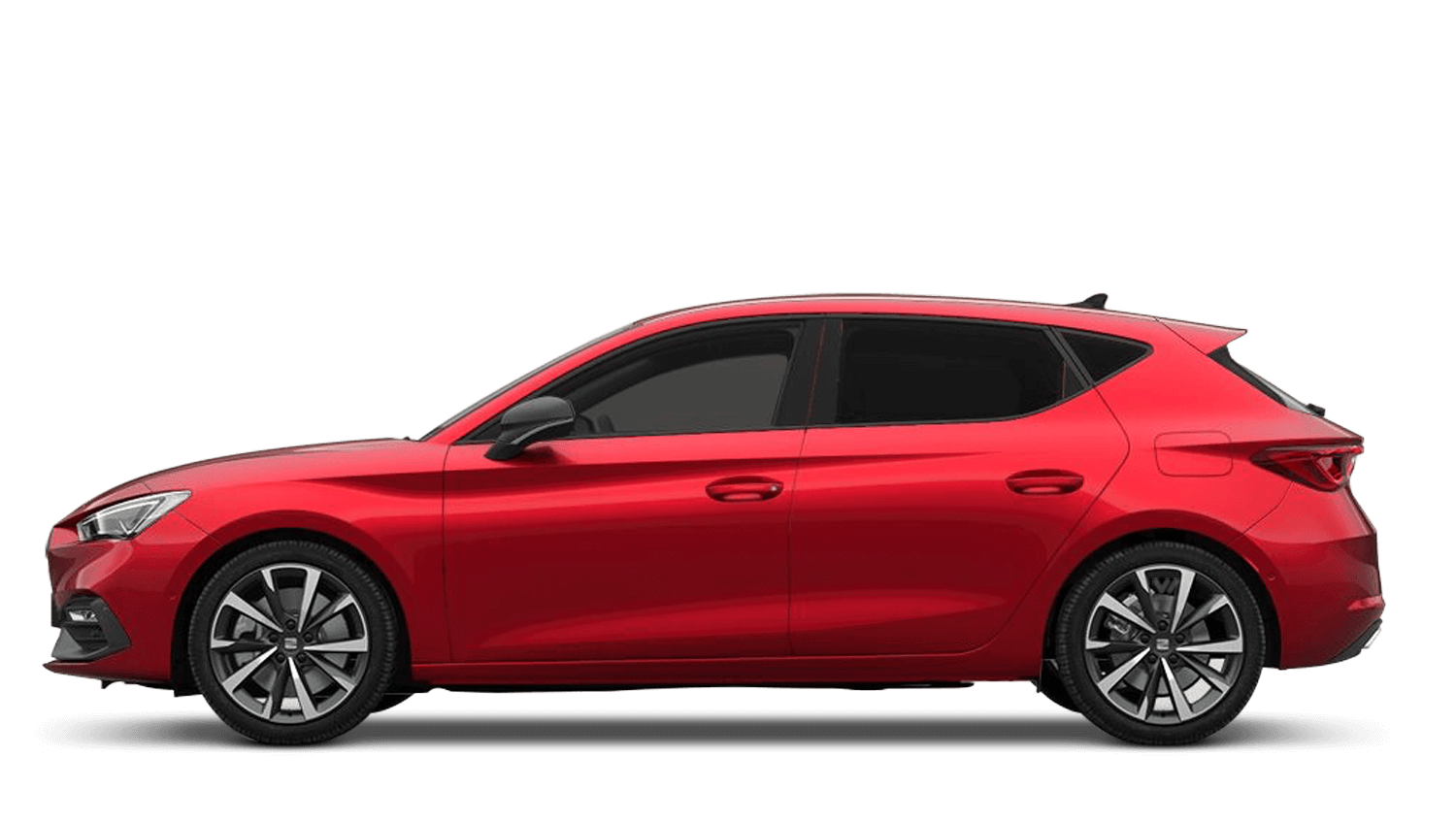 Desire Red (Metallic) New SEAT Leon e-Hybrid