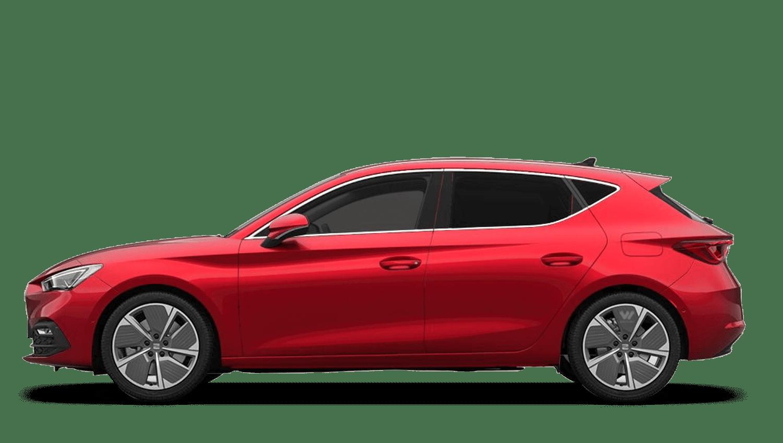 Desire Red (Metallic) SEAT Leon e-Hybrid (PHEV)