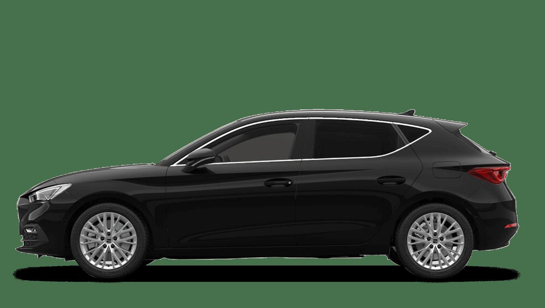 Midnight Black (Metallic) SEAT Leon e-Hybrid (PHEV)