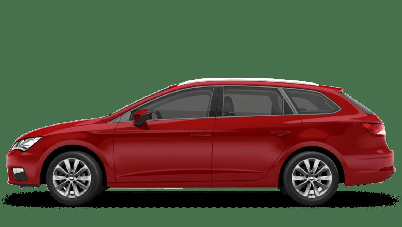 Desire Red (Metallic) SEAT Leon Estate