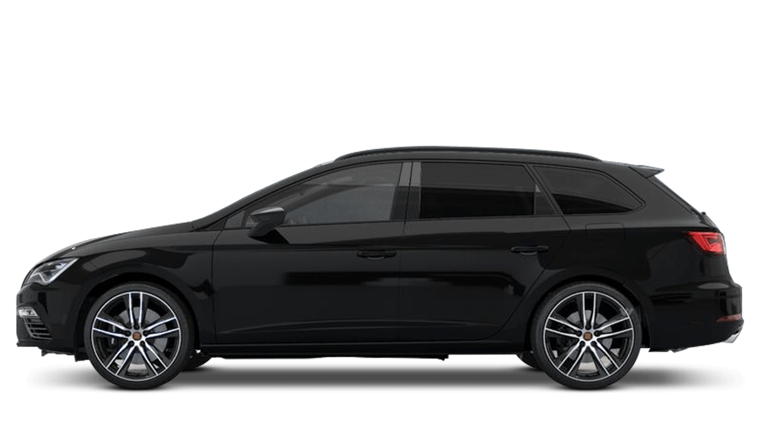 Midnight Black (Metallic) SEAT Leon Estate Cupra
