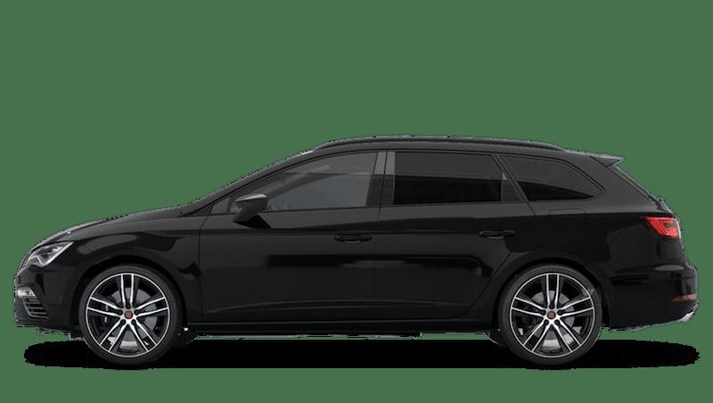 Midnight Black (Metallic) SEAT Leon Estate Cupra