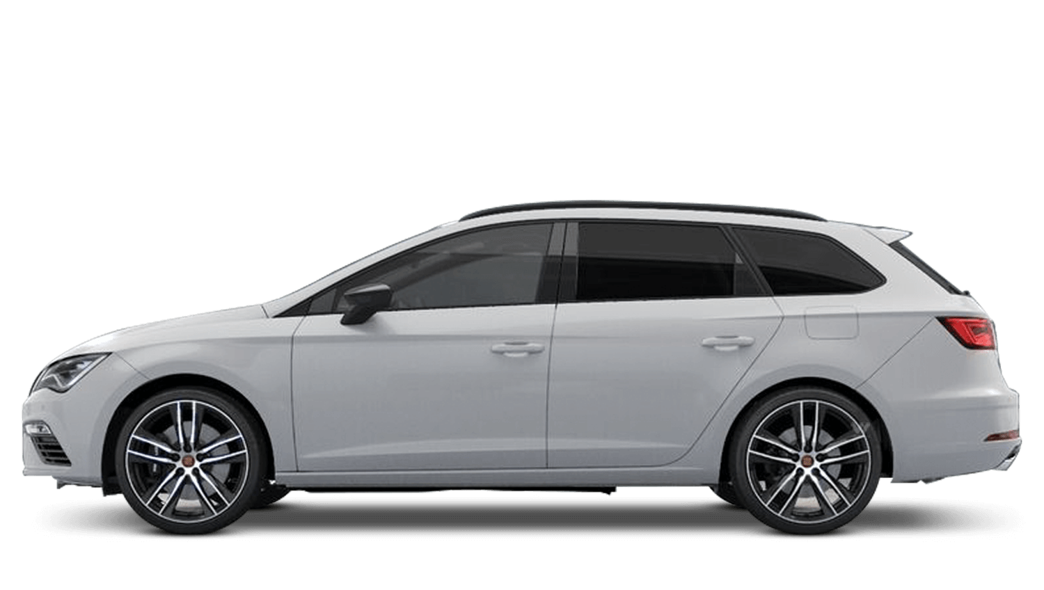 Nevada White (Metallic) SEAT Leon Estate Cupra