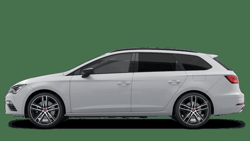 Nevada White (Metallic) SEAT Leon Estate Cupra