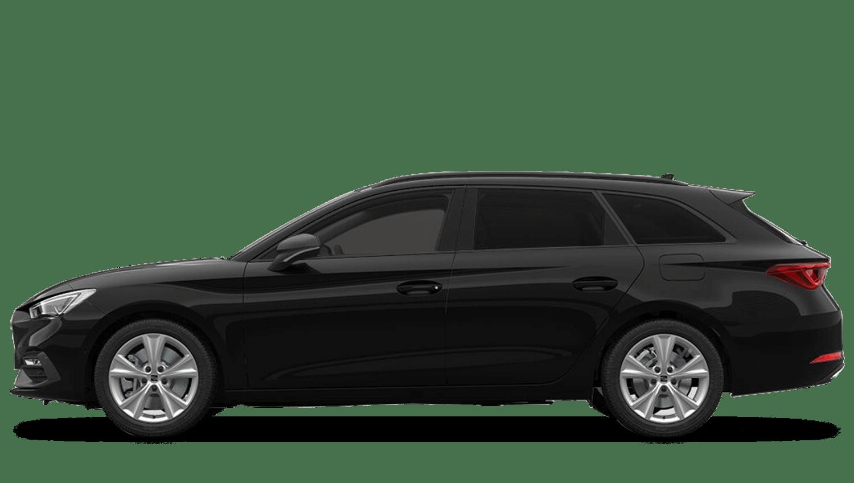 Midnight Black (Metallic) SEAT Leon Estate e-Hybrid  (PHEV)