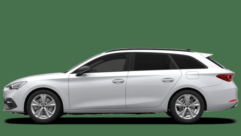 Nevada White (Metallic) SEAT Leon Estate e-Hybrid  (PHEV)