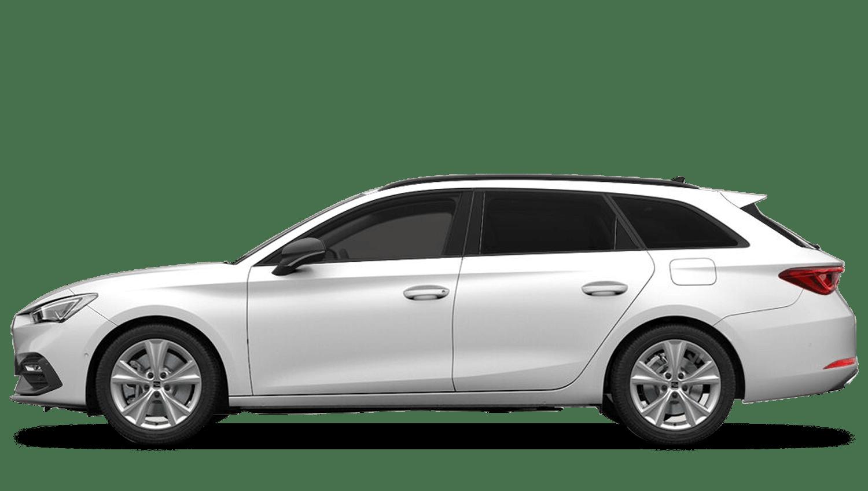 White (Solid) SEAT Leon Estate e-Hybrid  (PHEV)