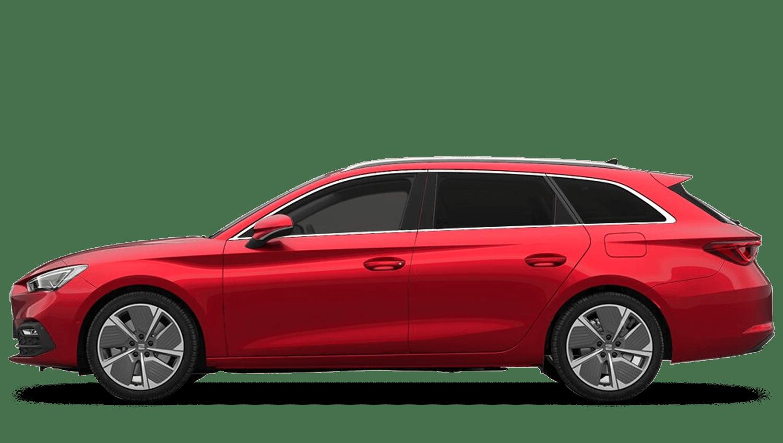 Desire Red (Metallic) New SEAT Leon Estate e-Hybrid