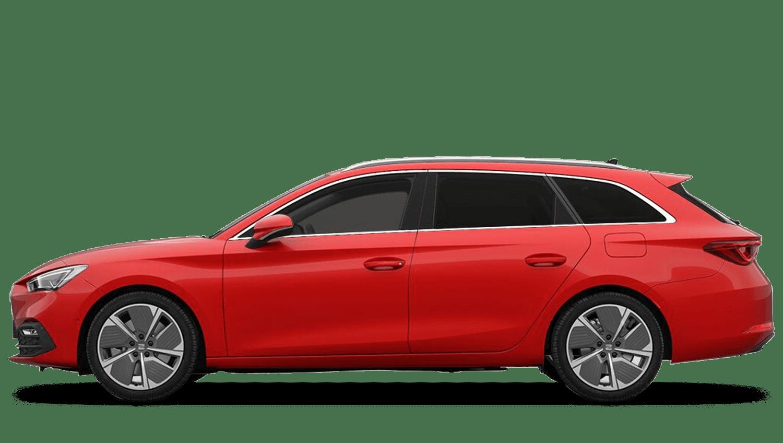 Emocion Red (Metallic) New SEAT Leon Estate e-Hybrid