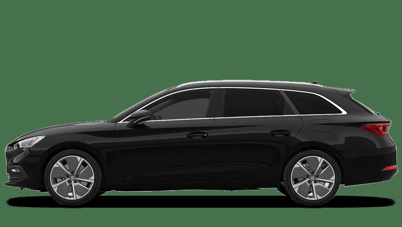 Midnight Black (Metallic) New SEAT Leon Estate e-Hybrid