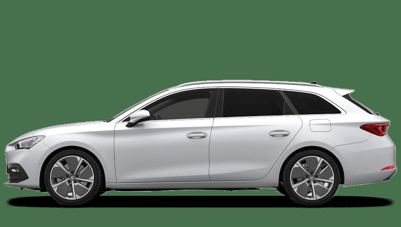 Nevada White (Metallic) SEAT Leon Estate