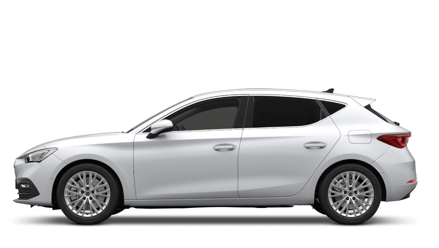 Nevada White (Metallic) SEAT Leon
