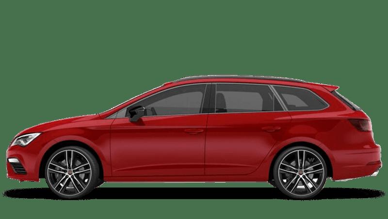 Desire Red (Metallic) SEAT Leon St Cupra