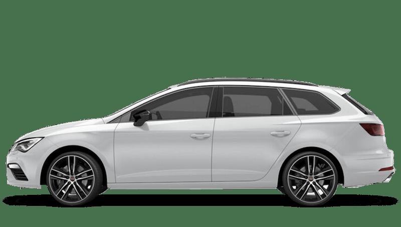 Nevada White (Metallic) SEAT Leon St Cupra