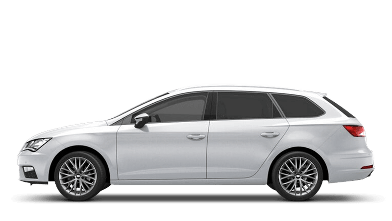 Nevada White (Metallic) SEAT Leon St