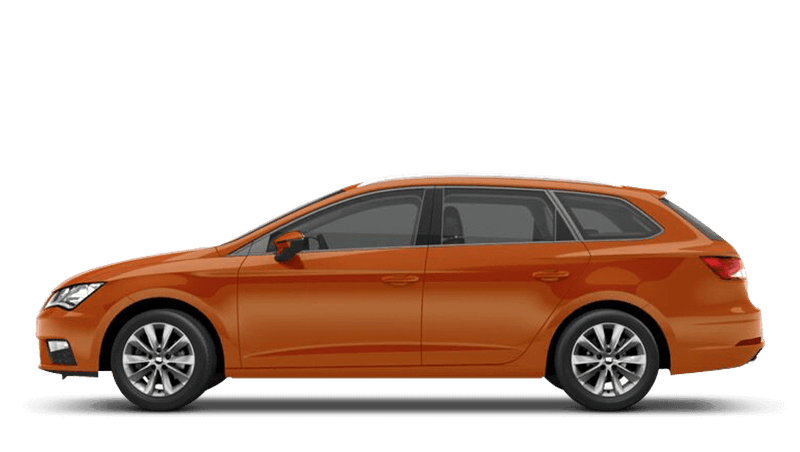 Eclipse Orange (Metallic) SEAT Leon St