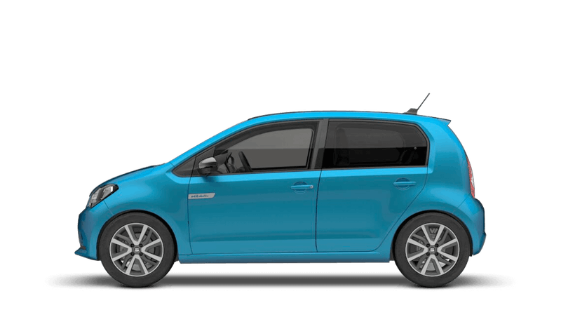 Chester Blue with Deep Black Roof (Metallic) SEAT Mii Electric
