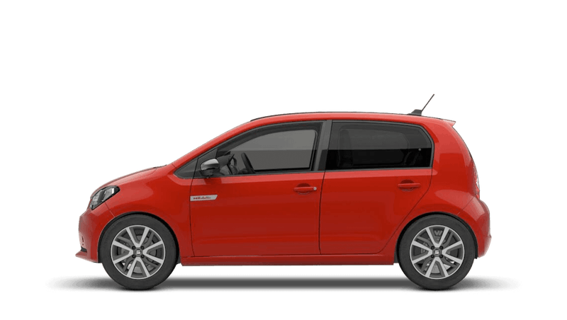 Tornado Red with Deep Black Roof (Solid) SEAT Mii Electric