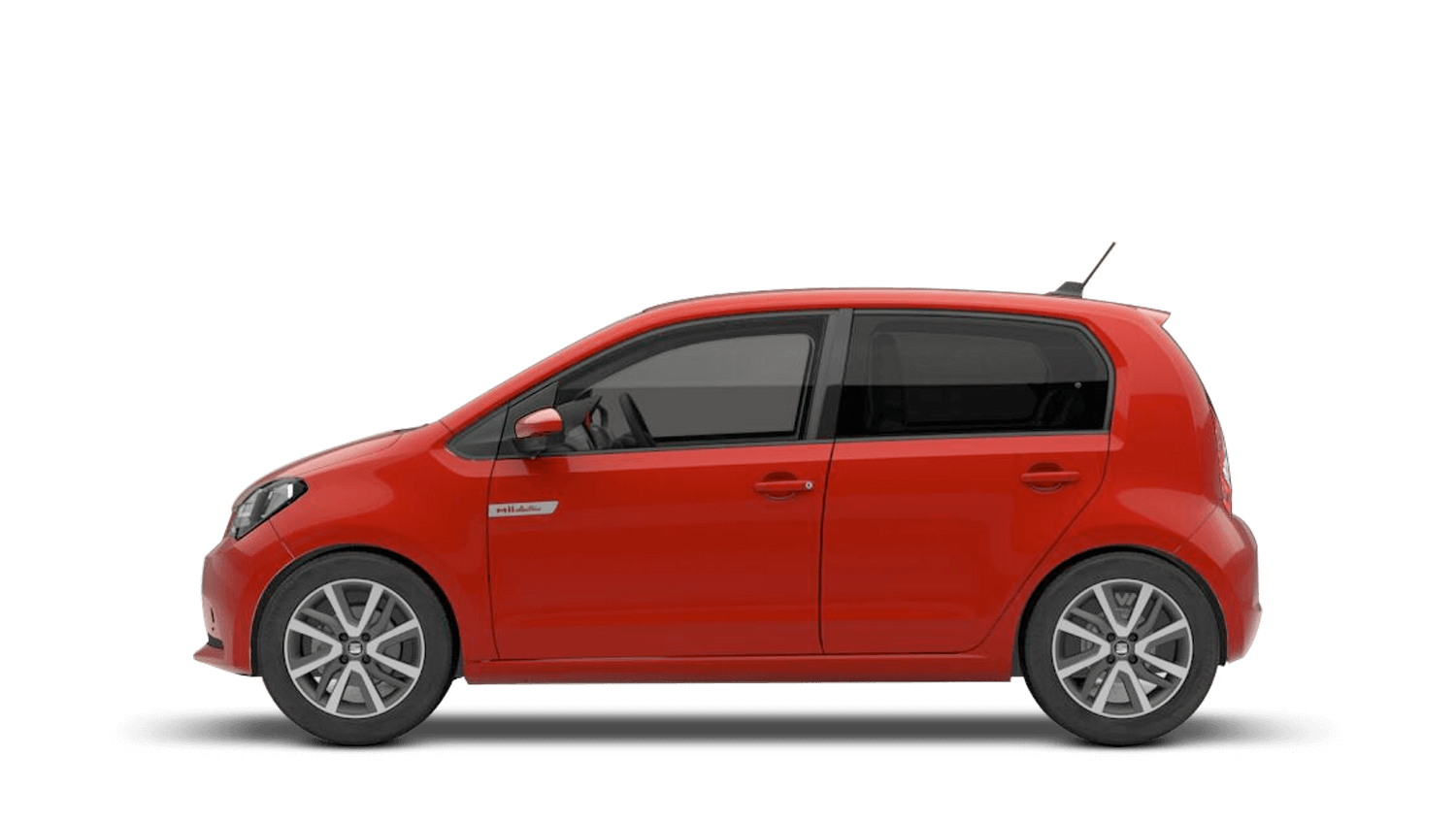 Tornado Red (Solid) SEAT Mii Electric