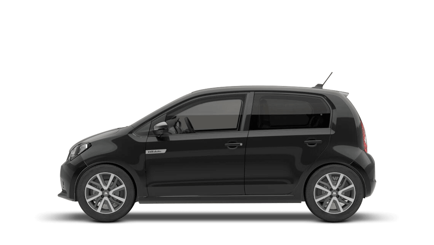 Deep Black (Metallic) SEAT Mii Electric