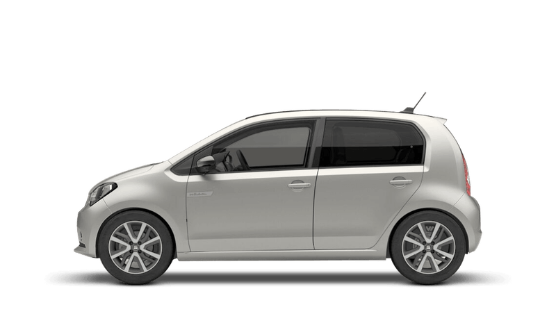 Tungsten Silver with Deep Black Roof (Metallic) SEAT Mii Electric